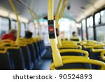 stop button on a london city bus | Shutterstock . vector #90524893