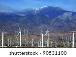 wind turbines coachella valley...   Shutterstock . vector #90531100