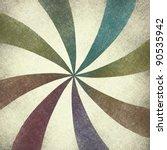 Beautiful Spiral Retro Design...