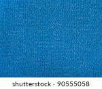 Blue Wool Texture