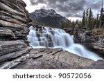 Athabasca Waterfall Alberta...