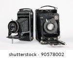 Two Old Vintage Camera