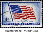 Usa   Circa 1957  A Stamp...