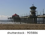 Huntington Beach Pier On A...