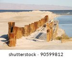 Old Wooden Pier Along The...