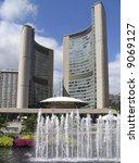 Stock photo toronto new city hall 9069127