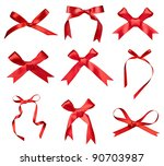 collection of various a silk... | Shutterstock . vector #90703987