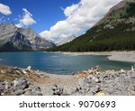 Small photo of Alpine lake, Vanadian Rockies, Kananaskis Provincial park, Alberta