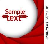 red background | Shutterstock .eps vector #90741284