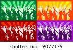 color parties  vector work | Shutterstock .eps vector #9077179