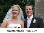 wedding couple | Shutterstock . vector #907769