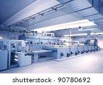 textile industry | Shutterstock . vector #90780692
