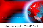 world news concept. | Shutterstock . vector #90781454
