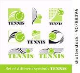 tennis symbol | Shutterstock .eps vector #90788396