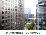 office buildings in canary... | Shutterstock . vector #90789929