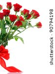 Stock photo red roses 90794198