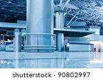 modern  airport terminal | Shutterstock . vector #90802997