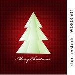 christmas tree | Shutterstock .eps vector #90803501