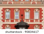 building facade   wroclaw ... | Shutterstock . vector #90834617