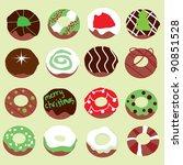 doughnut background for...   Shutterstock .eps vector #90851528