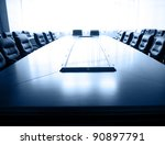 conference table and chairs in... | Shutterstock . vector #90897791