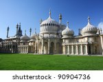The Royal Pavilion In Brighton  ...