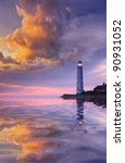 Beautiful Seascape With A...
