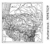 department of basses pyrenees... | Shutterstock .eps vector #90987029