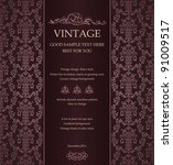abstract vintage background... | Shutterstock .eps vector #91009517