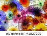 Decorative Glass Flowers...
