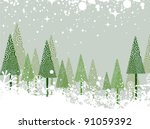 ������, ������: Green and white winter