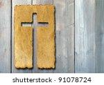 concept or conceptual christian ... | Shutterstock . vector #91078724