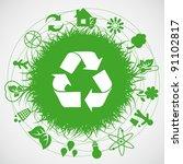ecology earth | Shutterstock . vector #91102817