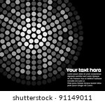 abstract background with led... | Shutterstock .eps vector #91149011