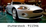 2006 Jaguar XKR sports car - stock photo