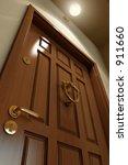 wooden door | Shutterstock . vector #911660