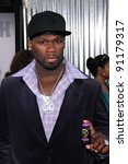 "curtis ""50 cent"" jackson at the ... 