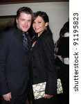 Small photo of LOS ANGELES - DEC 17: David Tom, girlfriend Audra Wise at the 2011 Tom / Achor Annual Christmas Party at Private Home on December 17, 2011 in Glendale, CA
