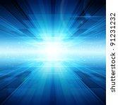 Virtual Technology Background....