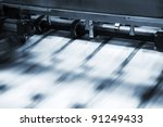 polygraphic process in a modern ... | Shutterstock . vector #91249433