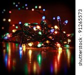 Christmas Led Color Lights