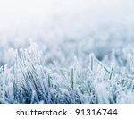 Winter Background  Morning...