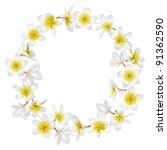 tropical necklace. folk... | Shutterstock .eps vector #91362590
