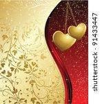 valentines background   Shutterstock .eps vector #91433447