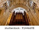 York Minster  The Organ
