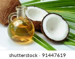 coconut oil for alternative... | Shutterstock . vector #91447619