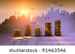 financial and business chart...   Shutterstock . vector #91463546