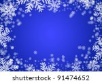 christmas background with... | Shutterstock . vector #91474652