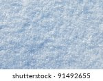 Snow Surface Abstract Background