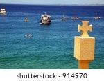 pray to fish | Shutterstock . vector #914970